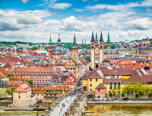 The historic city of Würzburg in Franconia, northern Bavaria, Germany. (Shutterstock)