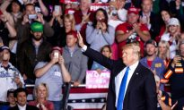 Trump Supporters Line Up 24 Hours Ahead of Texas Rally at 18,000-Seat Arena