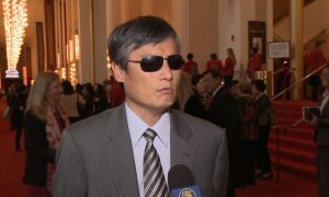 Well-Known Blind Chinese Rights Activist 'Truly Touched' by Shen Yun Music