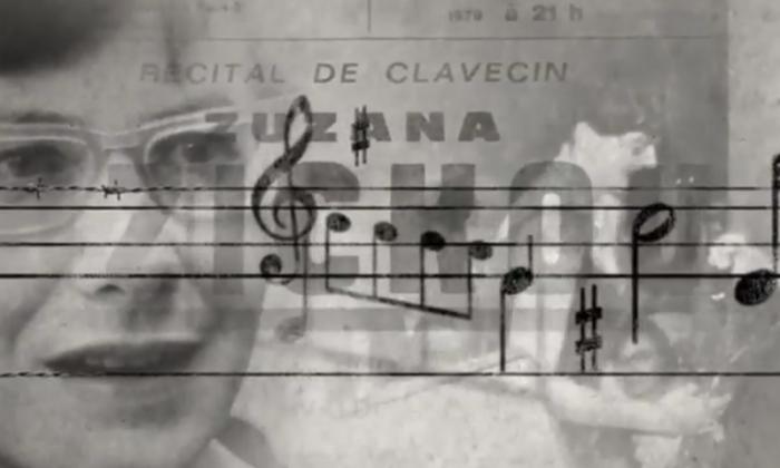 "Zuzana Ruzickova in the documentary ""Zuzana."" (Zuzana: Life is Music)"