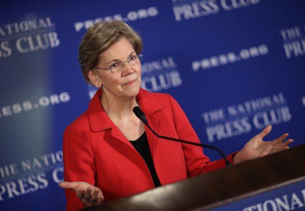 Elizabeth Warren Supports Eliminating the Electoral College