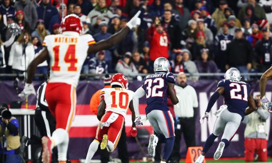 Patriots Fan Who Threw Beer at Chiefs Player Tyreek Hill Is Charged