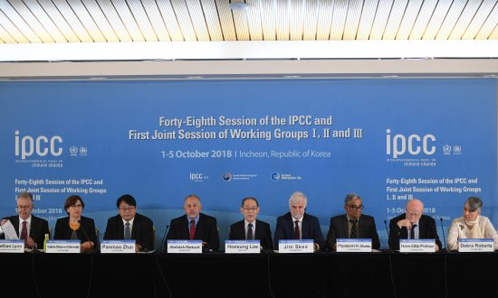 Halloween Three Weeks Early: The IPCC's Latest Scare Story