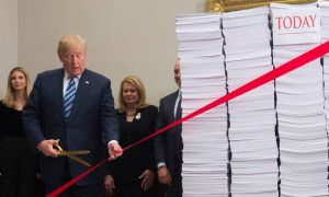 Trump Vows to Cut More Red Tape to Fuel Economic Growth
