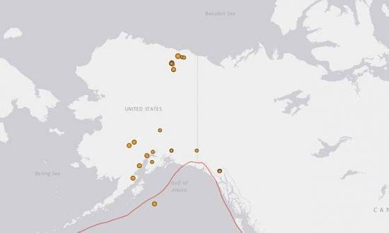 At Least 25 Earthquakes Strike Alaska in 24 Hours: USGS