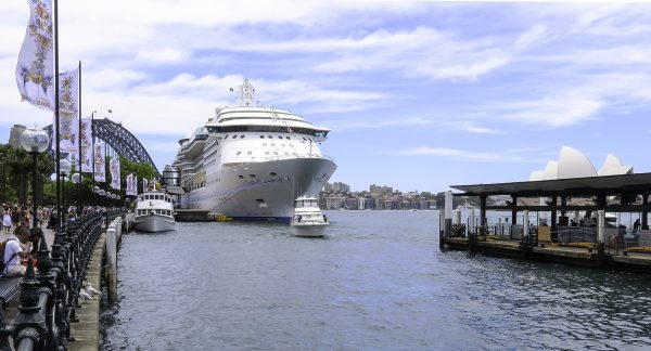 Radiance of the seas in sydney