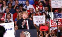 Trump Campaigns in Arizona for Rep. Martha McSally, Locked in Tight Senate Race