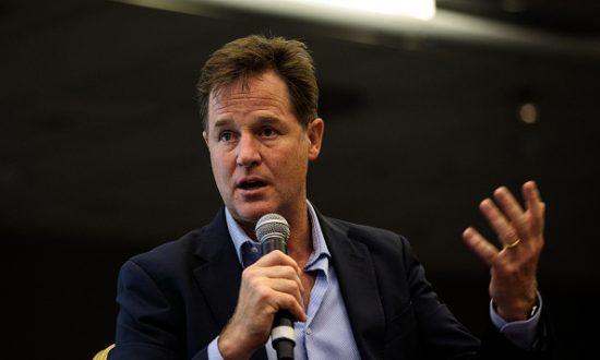 Facebook Hires Ex-UK Deputy Premier Clegg to Lead Lobbying