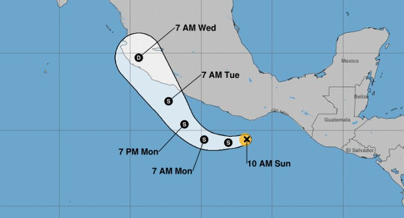 Hurricane Willa Intensifies as it Barrels Towards Mexico's Western Coast