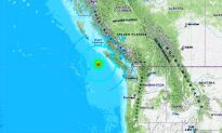 3 Strong Earthquakes Strike Off Vancouver Island, British Columbia