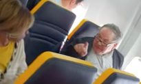 Video: Man Goes on Racially Charged Tirade Against Passenger on Ryanair Plane