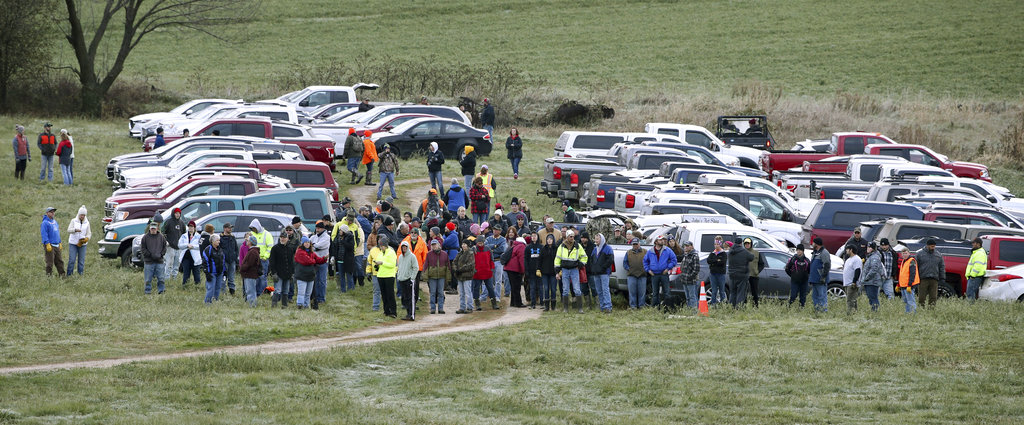 2,000 volunteers search for Jayme Closs