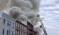 Massive Fire Causes 4 Buildings to Collapse in New Jersey