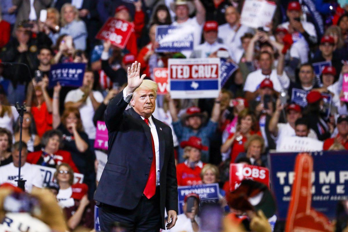 Trump at Houston MAGA rally