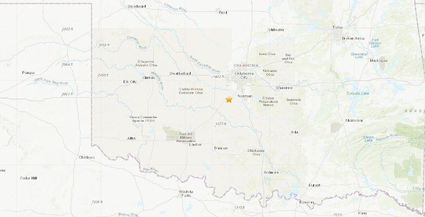 blanchard earthquake today