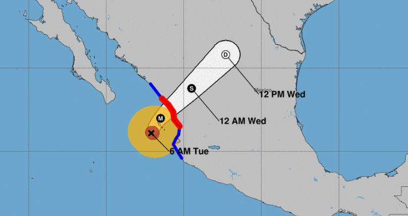 Hurricane Willa bears down on Mexican coast