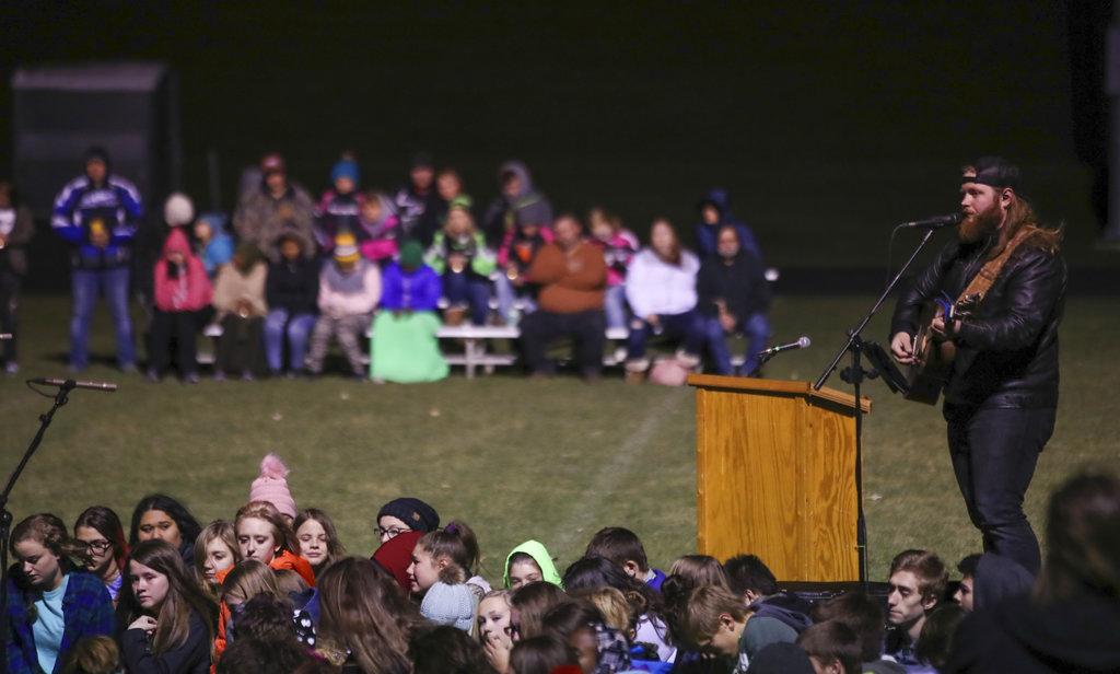 vigil for missing teen Jayme Closs