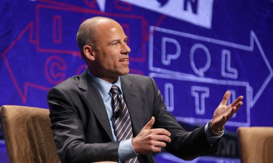 Michael Avenatti speaks onstage during Politicon 2018 at Los Angeles Convention Center in Los Angeles, California on Oct. 20, 2018. (Phillip Faraone/Getty Images for Politicon)