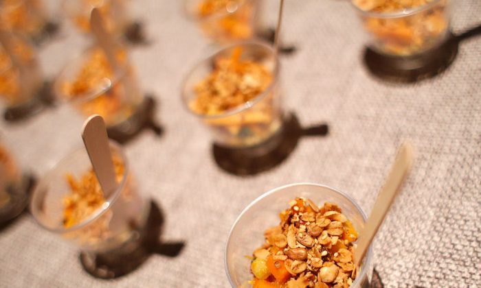 File photo showing samples of cereal and yogurt at the 2016 New York Taste event, New York City, Nov. 1, 2016. (Brian Ach/Getty Images for New York Magazine)