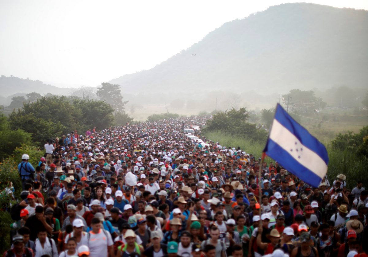 CIS: Coming caravan both good and bad for Trump