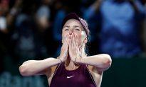 Tennis: Svitolina Subdues Stephens to Claim WTA Finals Triumph
