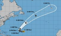 Tropical Storm Oscar Forms in Atlantic, Expected to Become Hurricane