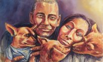 A Palette All Shades of Love: Brian Peterson Paints 'Faces of Santa Ana'