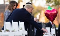 Trump Pays Respects to Victims at Pittsburgh Synagogue