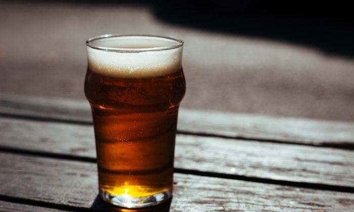A stock photo of beer. (Little Visuals/Pexels)