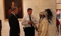 Tribal Leader Barred From Supreme Court Due to Traditional Headdress