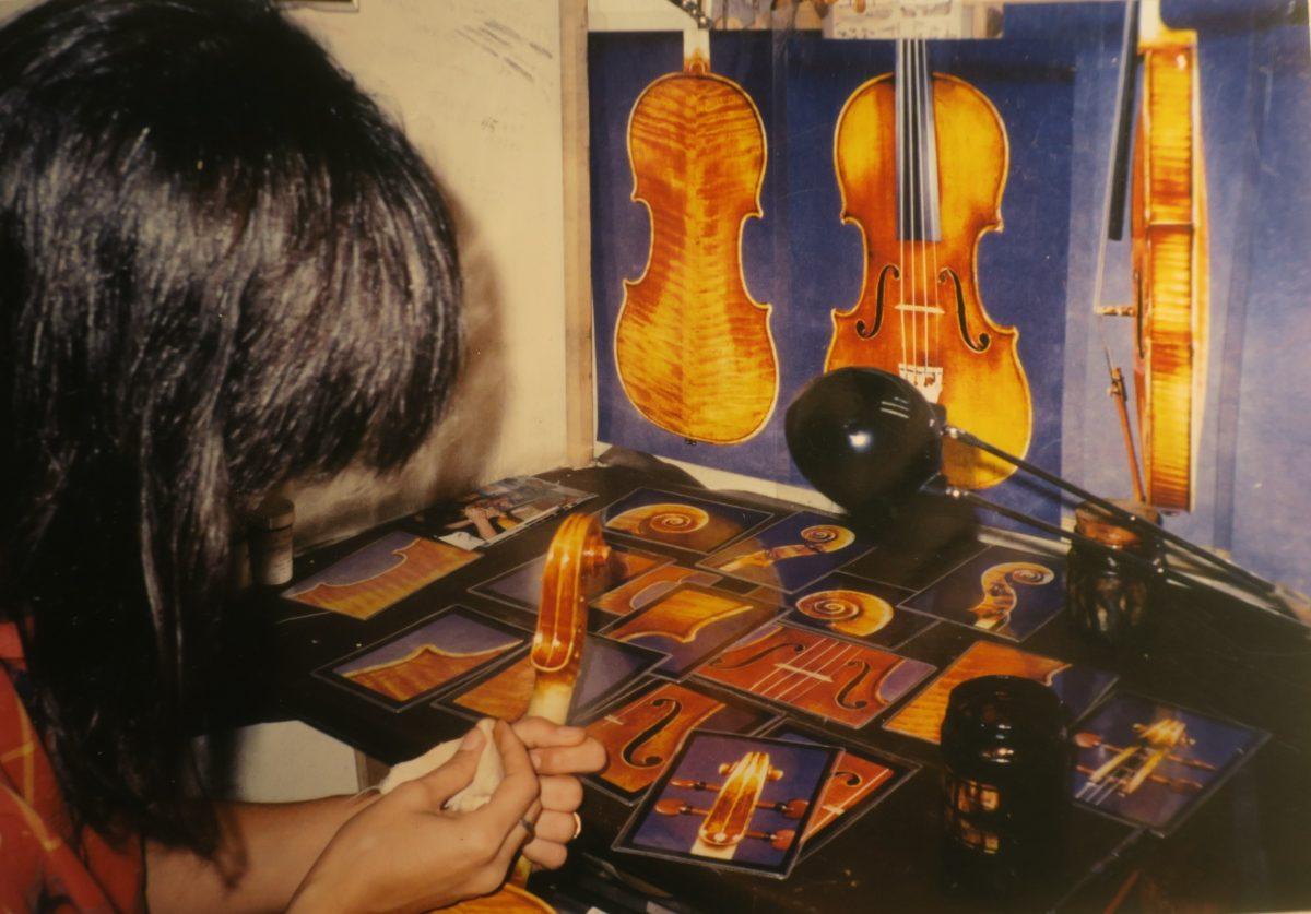 Itzhak Perlman's replica 1714 Stradivari