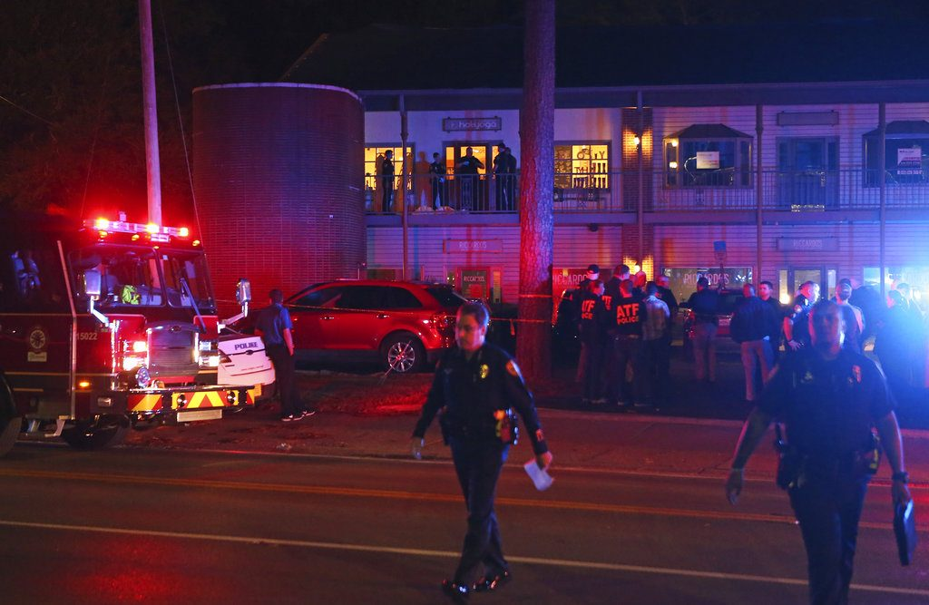 police investigate yoga studio shooting