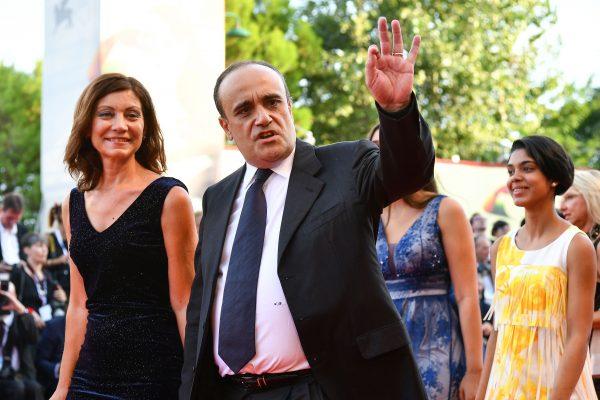 Italian Culture Minister Alberto Bonisoli arrives at the Venice Film Festival
