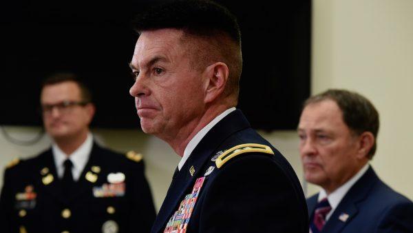 Maj. Gen. Jefferson S. Burton