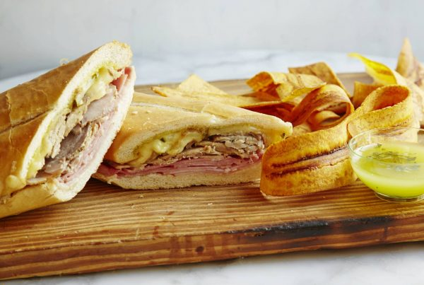 Cubano sandwich from Porto's Bakery