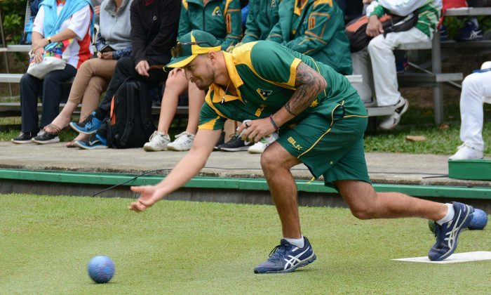 Australian Jesse Noronha will look to defend his singles title at the Hong Kong International Bowls Classic this weekend starting Nov 10. (Stephanie Worth)