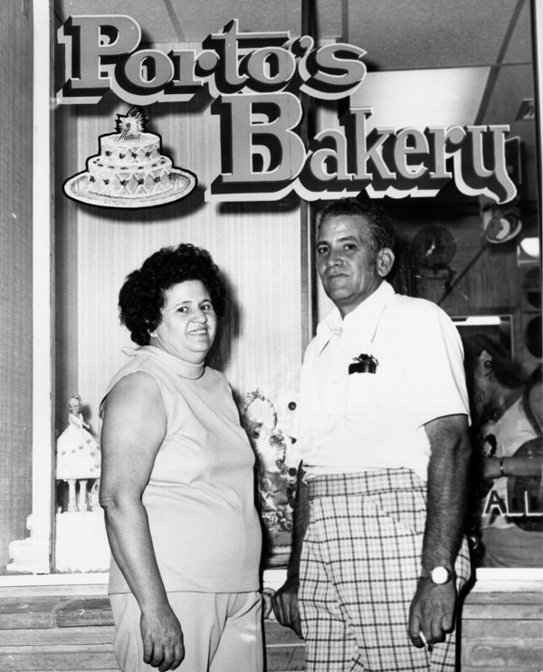 Rosa and Raul Porto Sr. of Porto's Bakery