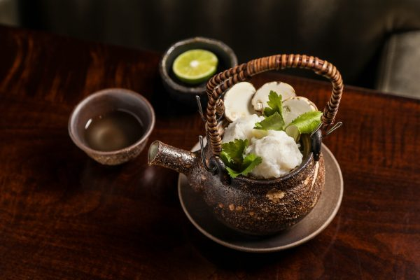 Wanmori kaiseki course with dobin steamed soup at Suzuki