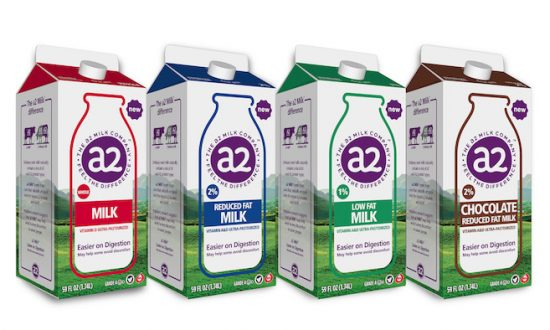 a2 Milk, from New Zealand-based The a2 Milk Company, is the most widely available brand in the U.S. (Courtesy of The a2 Milk Company)