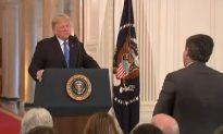 Video: Trump Calls Jim Acosta 'Very Rude,' Suggests CNN Should Fire Him