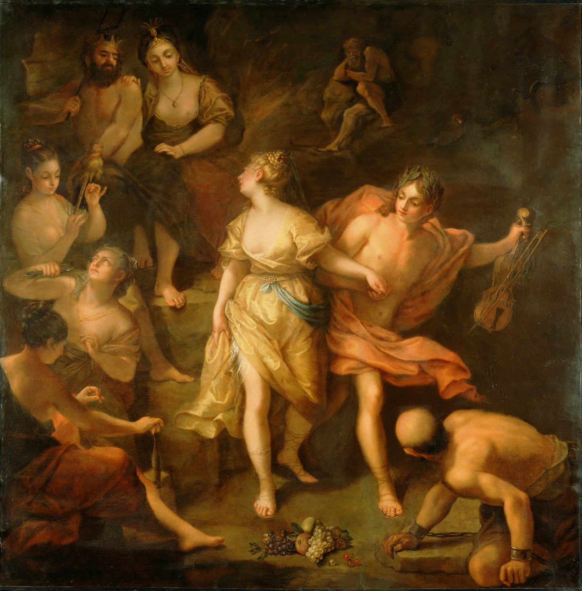 Orpheus and Eurydice by Jean Raoux