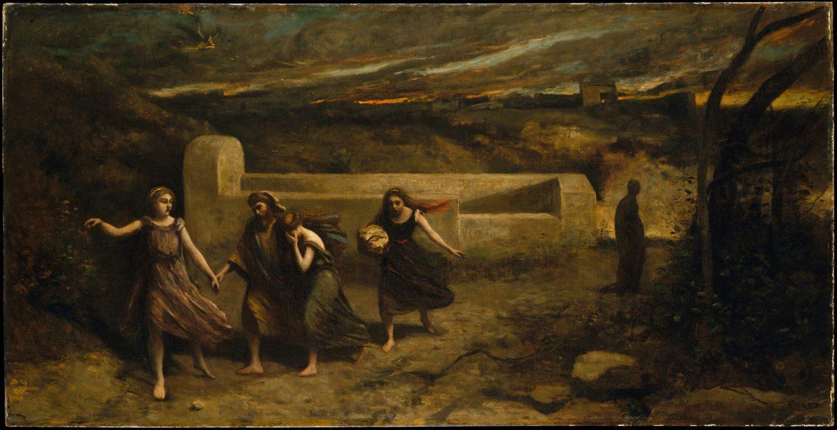 The Burning of Sodom, formerly The Destruction of Sodom