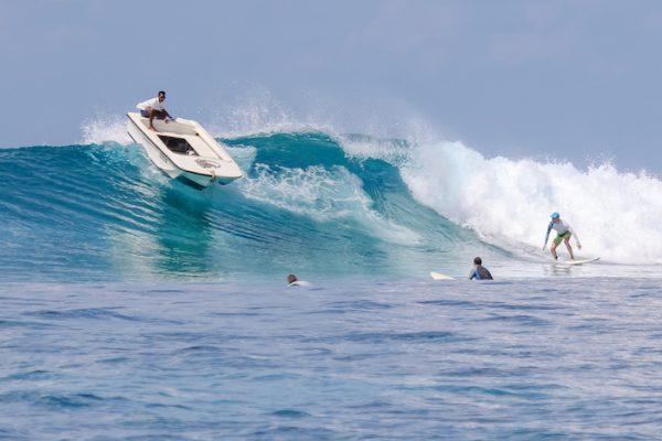 Surfer Boat