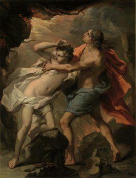 Orpheus_and_Eurydice by Gaetano_Gandolfi