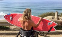 Paralyzed Sea Lover and Surfer Exceeds Limitations