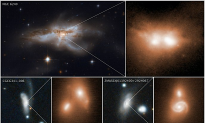 Scientists Observe Final Stage of Merging Supermassive Black Holes for the First Time