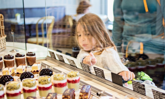 Kids are some of the bakery's best customers. (Courtesy of B. Patisserie)