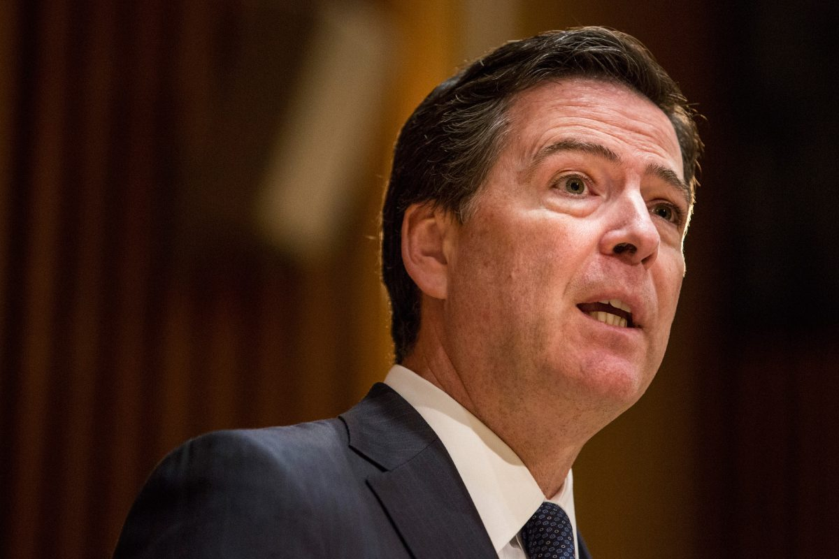 FBI director james comey testifies before congress