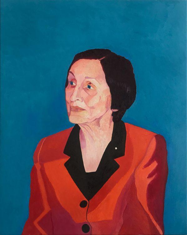 Portrait of Francoise Gilot