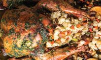 Helene An's Turkey Stuffed With Sticky Rice